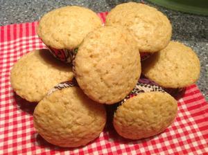Medové muffiny