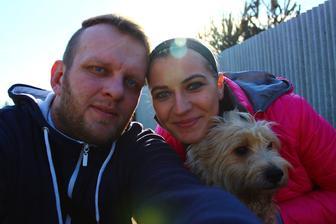 a to jsme my dva, Benik a prcek v brisku :-)