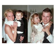 s našimi malými svatebčánky :-)