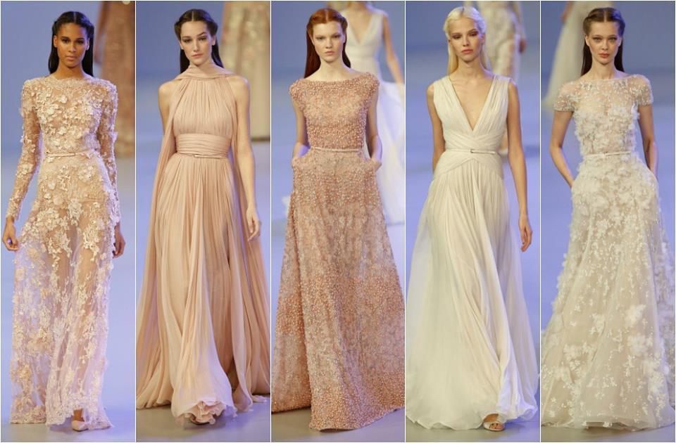 Inšpirácie - v podobnom jednoduchom ležérnom štýle 2o14´- boli aj moje svadobné šaty, ktoré som si sama navrhla pred 10 rokmi