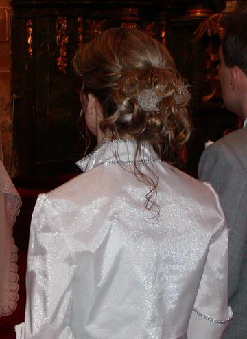 Inšpirácie - Môj svadobný účes v roku 2oo4´