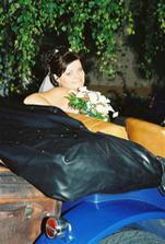 Fotenie v svadobnom veteráne