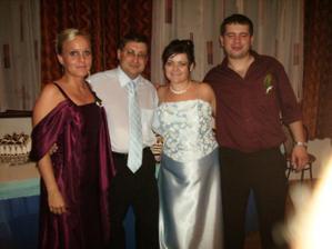 Ja, Vladko,moja kamoška Maťulka s priateľom Milanom