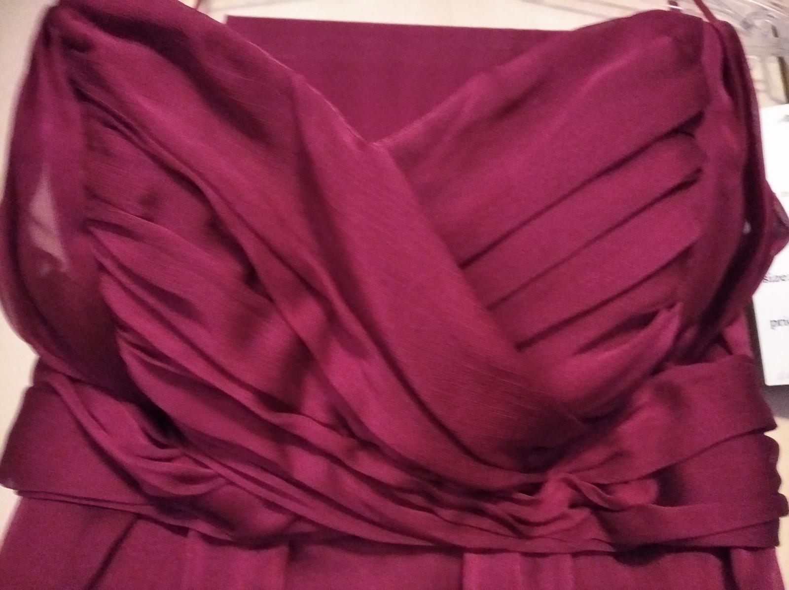 Cyklámenové dlhé šaty - 34 - Obrázok č. 1