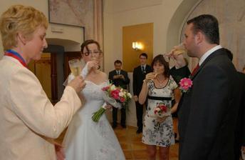 ...na novomanžele!