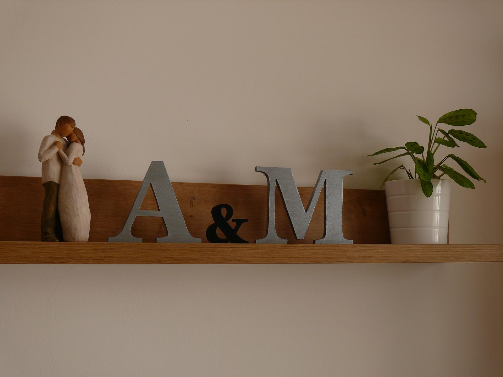 Z dreva - pre radosť - strieborna, 15 cm