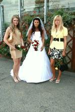 moje dvě sestričky Simča a Sabča