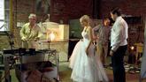 Svatba ve sklárně v Lindavě.