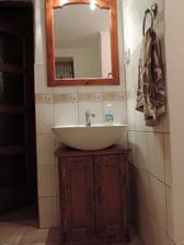 zrkadlo + skrinka pod umývadlo