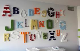 Písmenká a čísla ako dekorácia - veselé písmenká