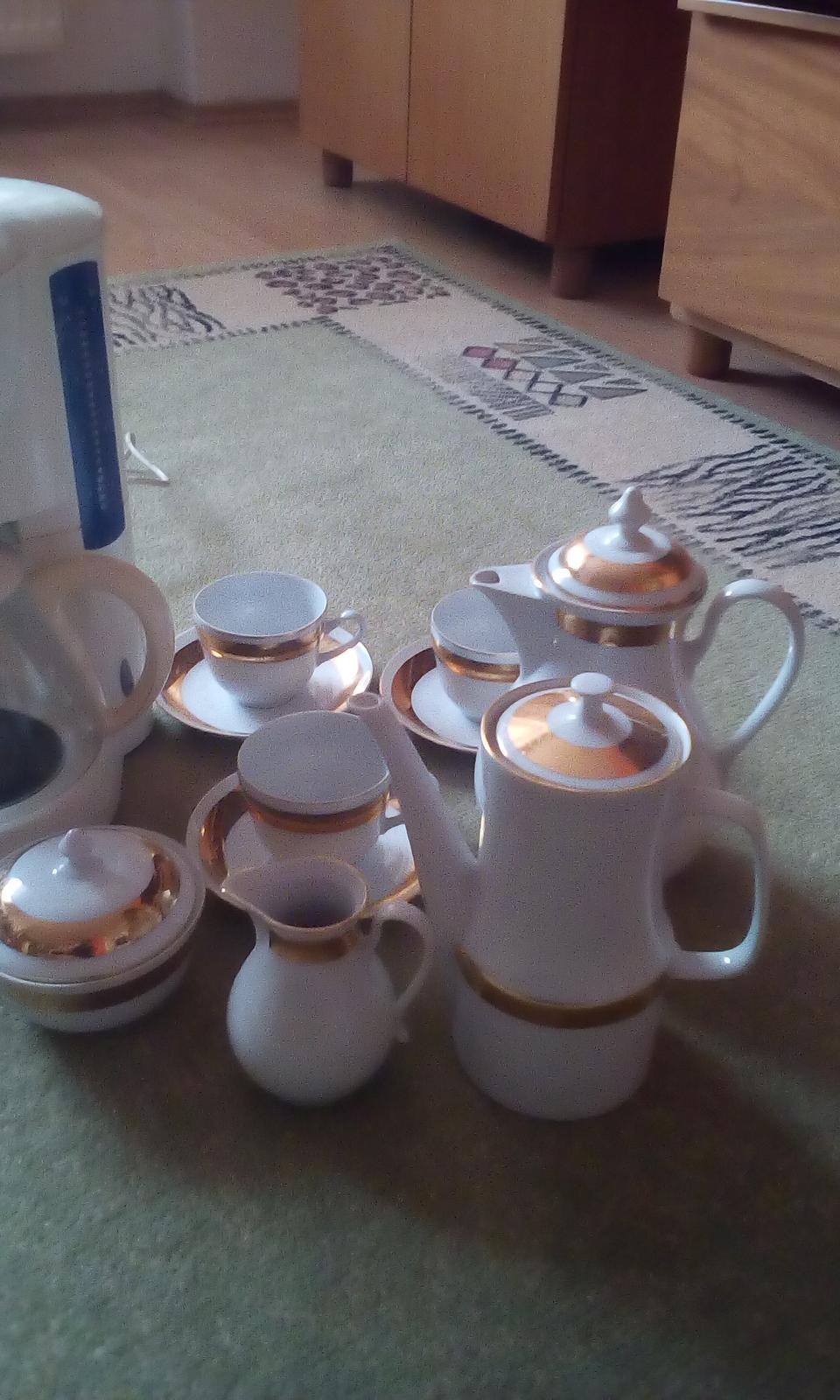 Kavovar+cajova alebo kavova suprava - Obrázok č. 3