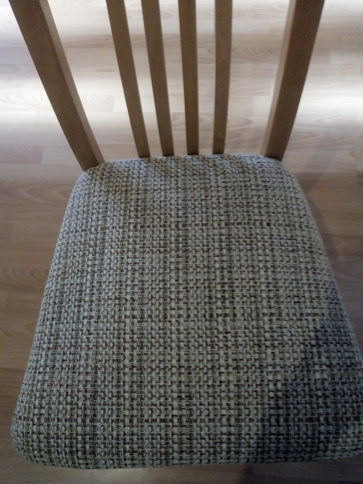 4x stoličky - Obrázok č. 2