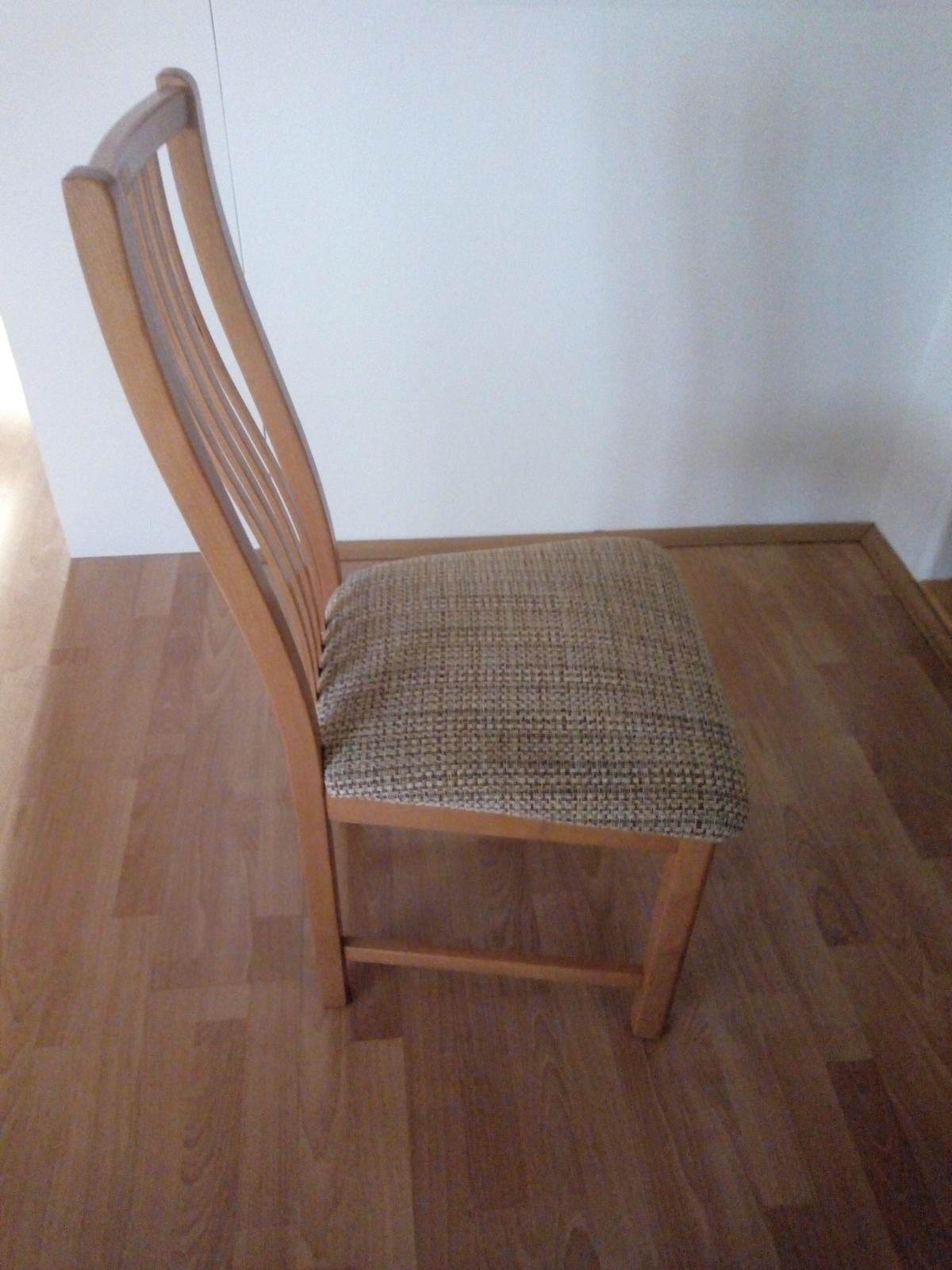 4x stoličky - Obrázok č. 1