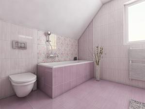 Vizualizácia detskej kúpeľne.