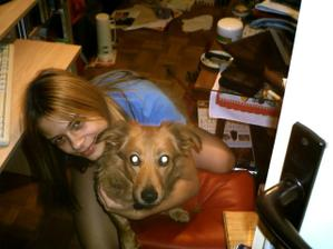 a zase já, tentokrát s naším psím miláčkem=o)