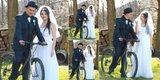 Ručne šité svadobné šaty, 36