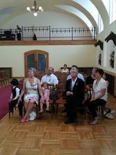 nevěsty rodina