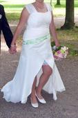 Originalní svatební šaty 42 - 46, 44