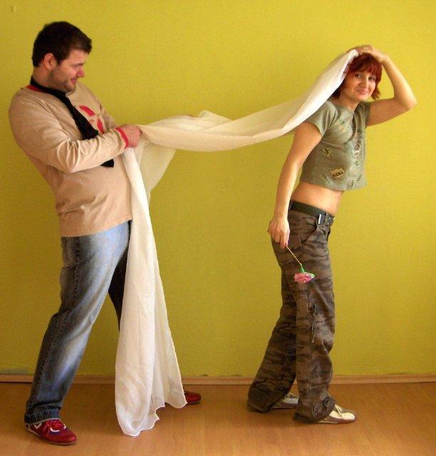 Svatbicka - svatba na necisto