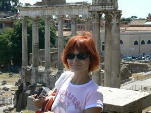 ze svatebni cesty v Rime