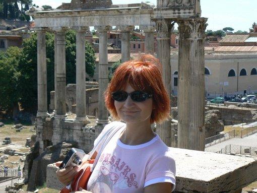 Lenka Brožová{{_AND_}}David Seďa - ze svatebni cesty v Rime