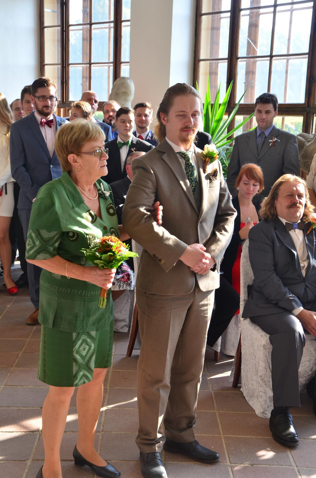 Šárka{{_AND_}}Tomáš - Ženich s babičkou