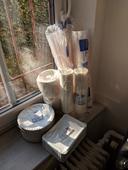 eko jednorázové nádobí (min 100 ks od každého),