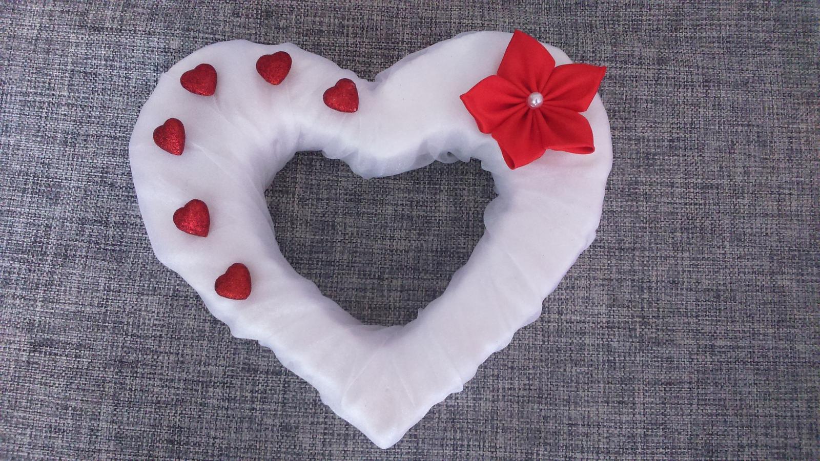 Srdce na auto nevěsty - Obrázek č. 4