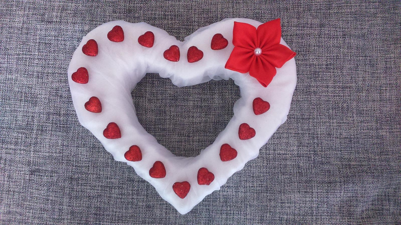 Srdce na auto nevěsty - Obrázek č. 1