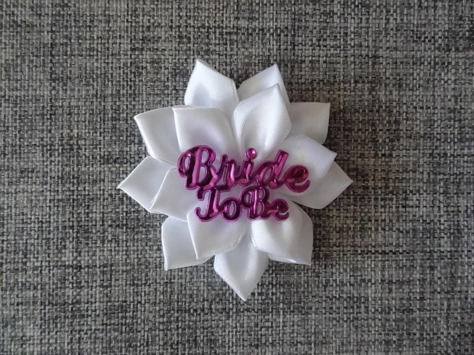 Brož pro budoucí nevěstu - Obrázek č. 1