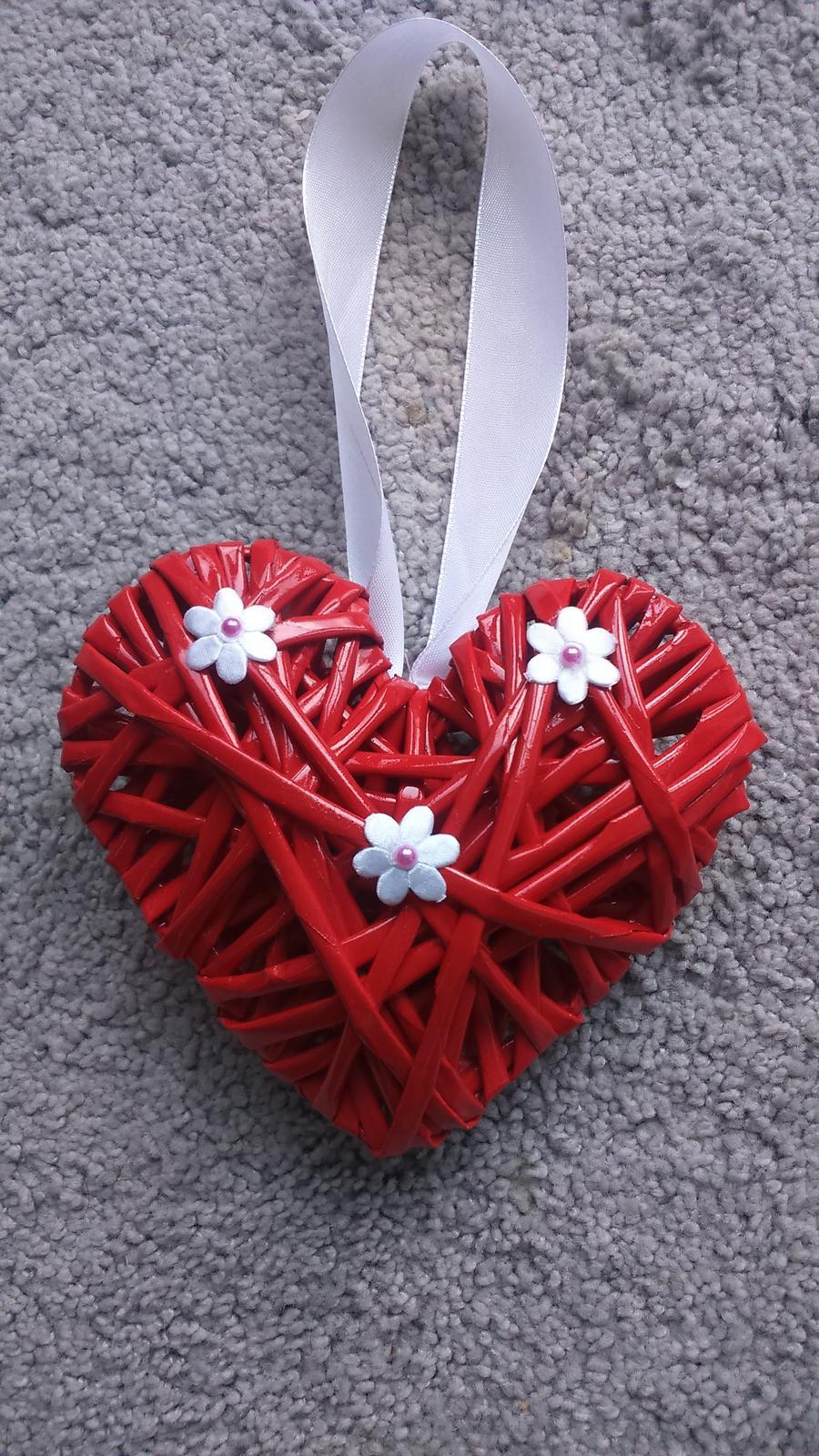 Pletené srdce - Obrázek č. 1