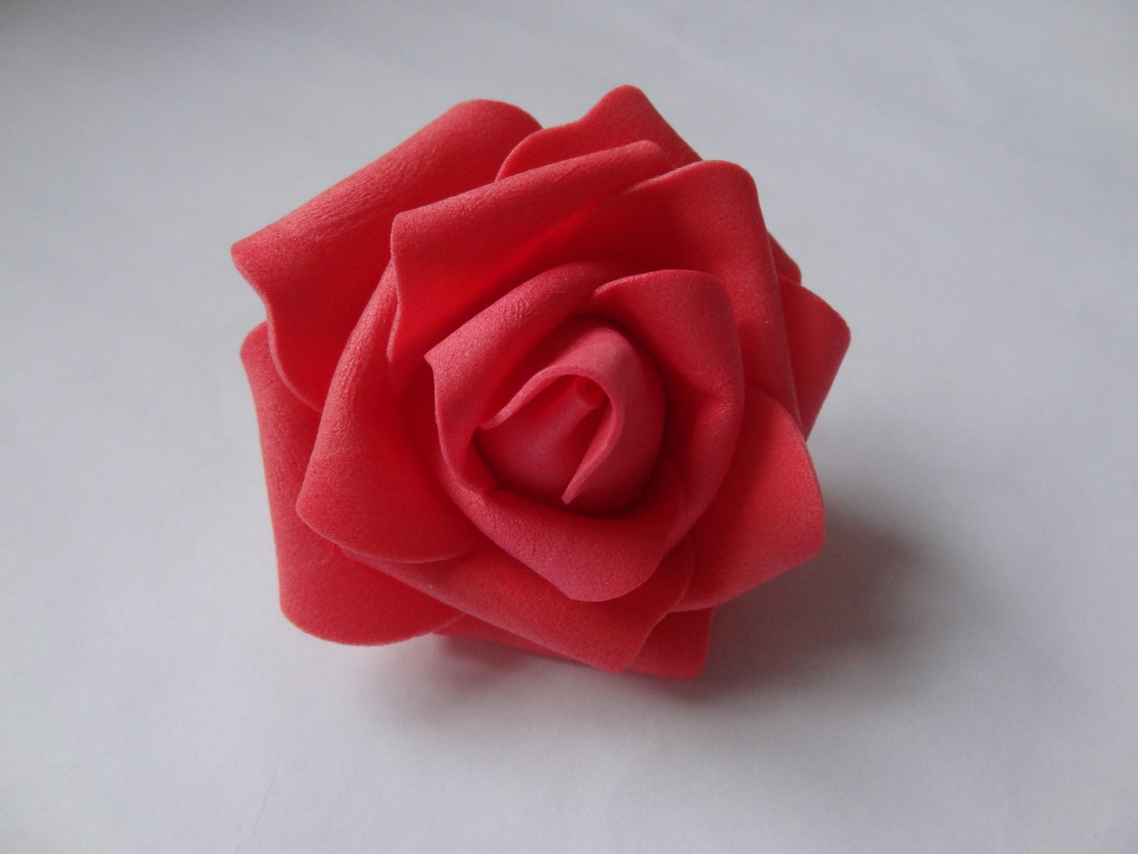 Pěnové růže 6cm - Obrázek č. 1