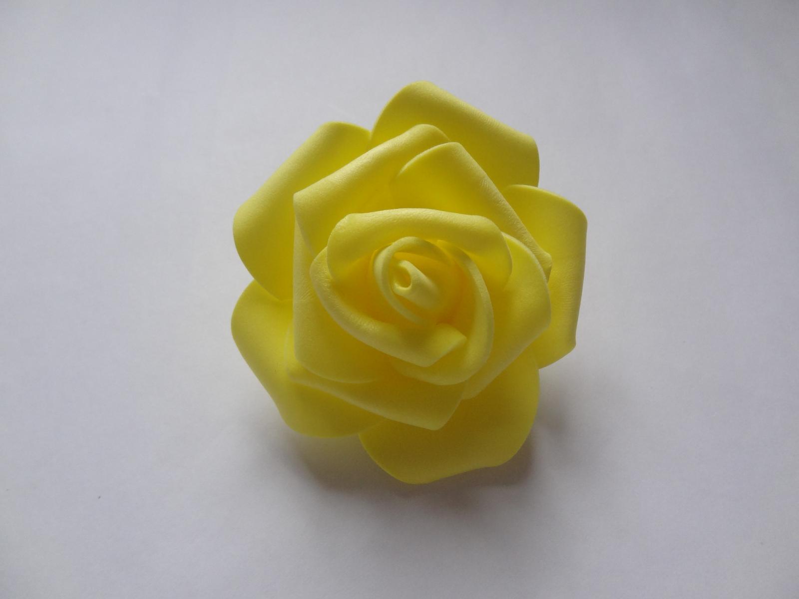 Pěnové růže 6cm - Obrázek č. 4