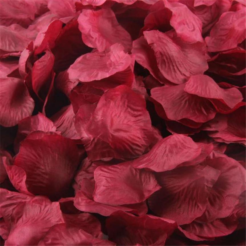 Okvětní lístky růží - bordo - Obrázek č. 1