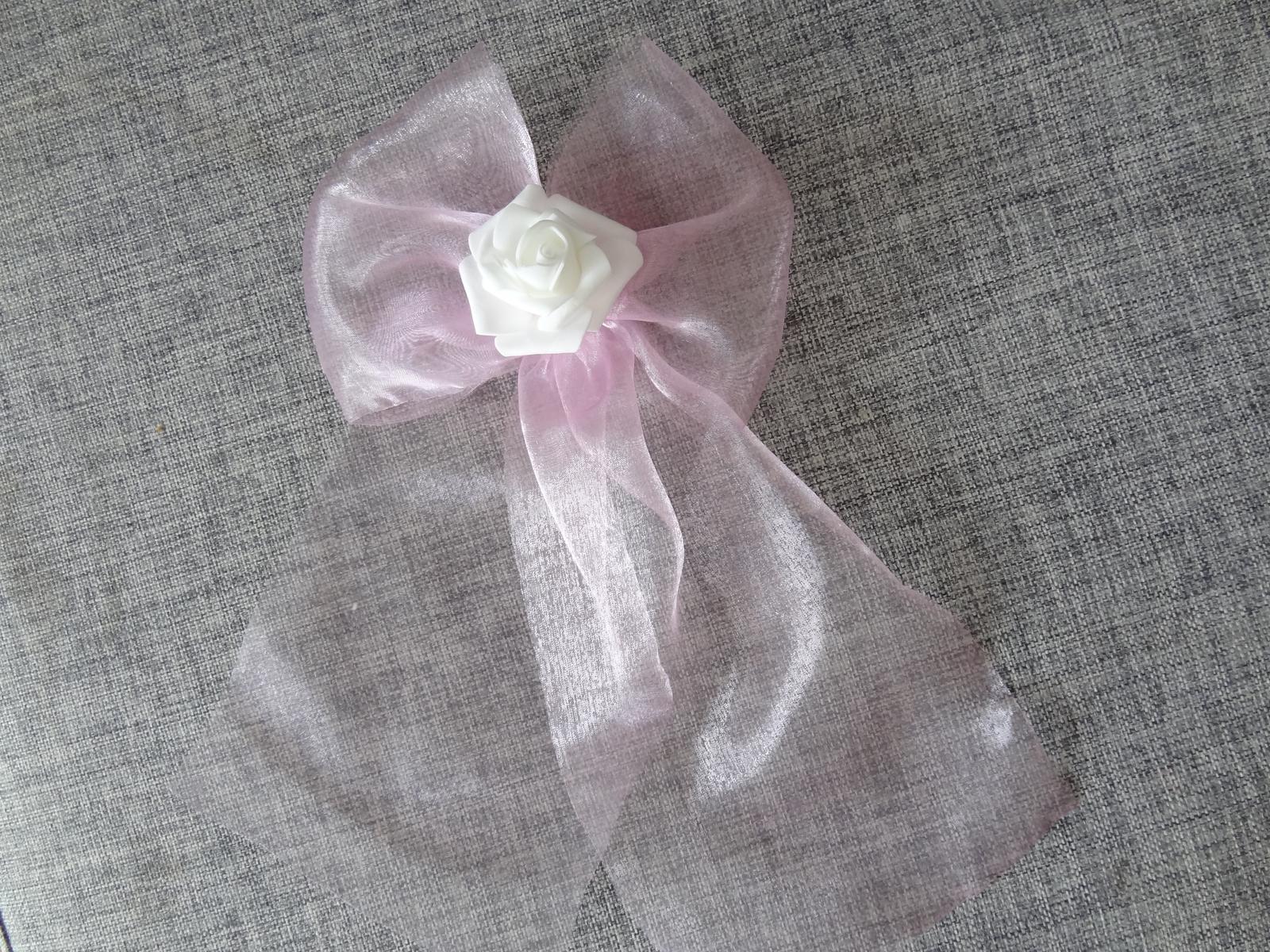 Mašle na kliky s růží - Obrázek č. 1
