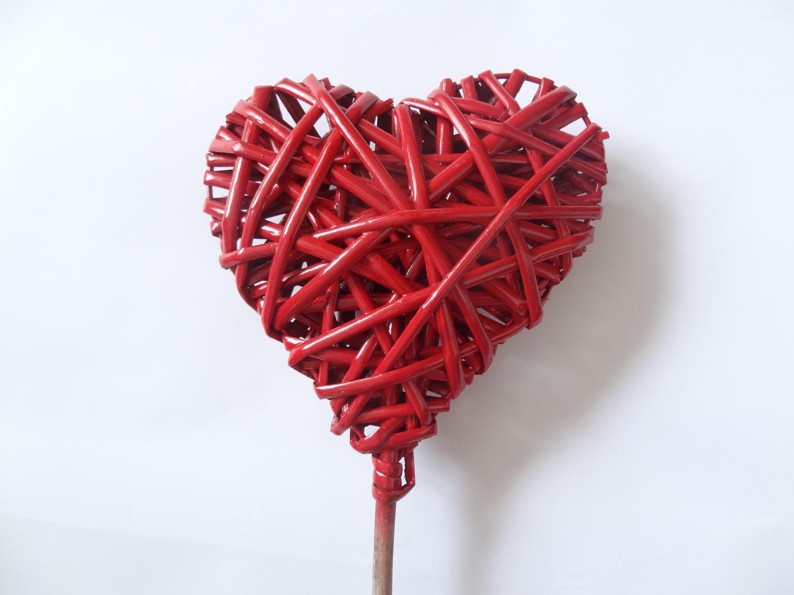 Srdce - zápich - Obrázek č. 1