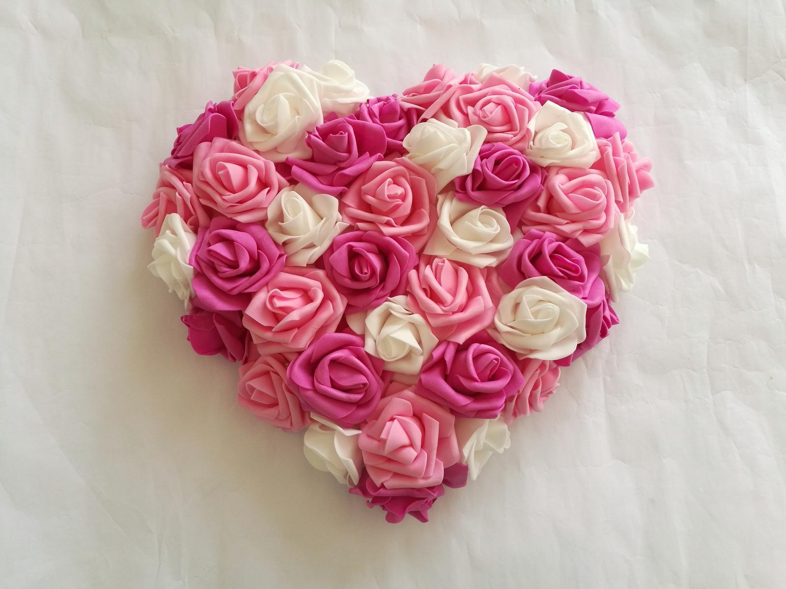 Srdce - barva na přání - Obrázek č. 1