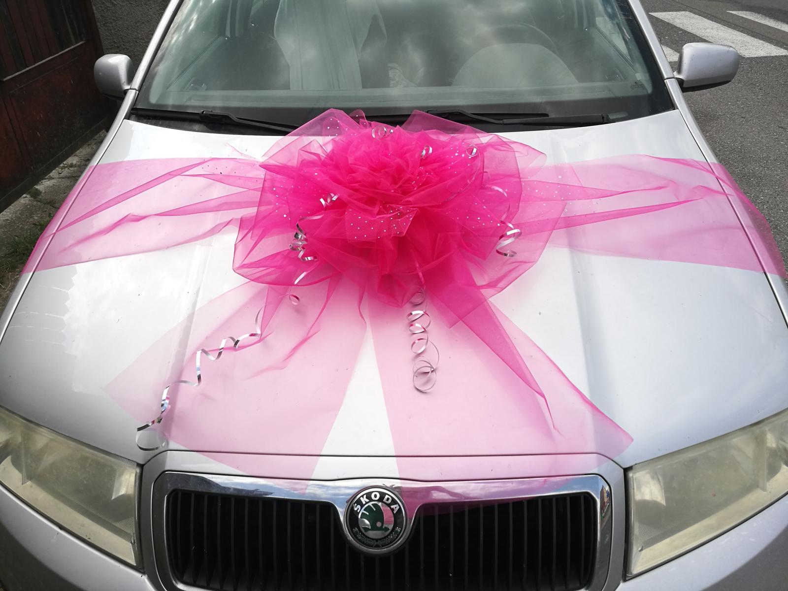 Mašle na auto v barvě na přání - Obrázek č. 1