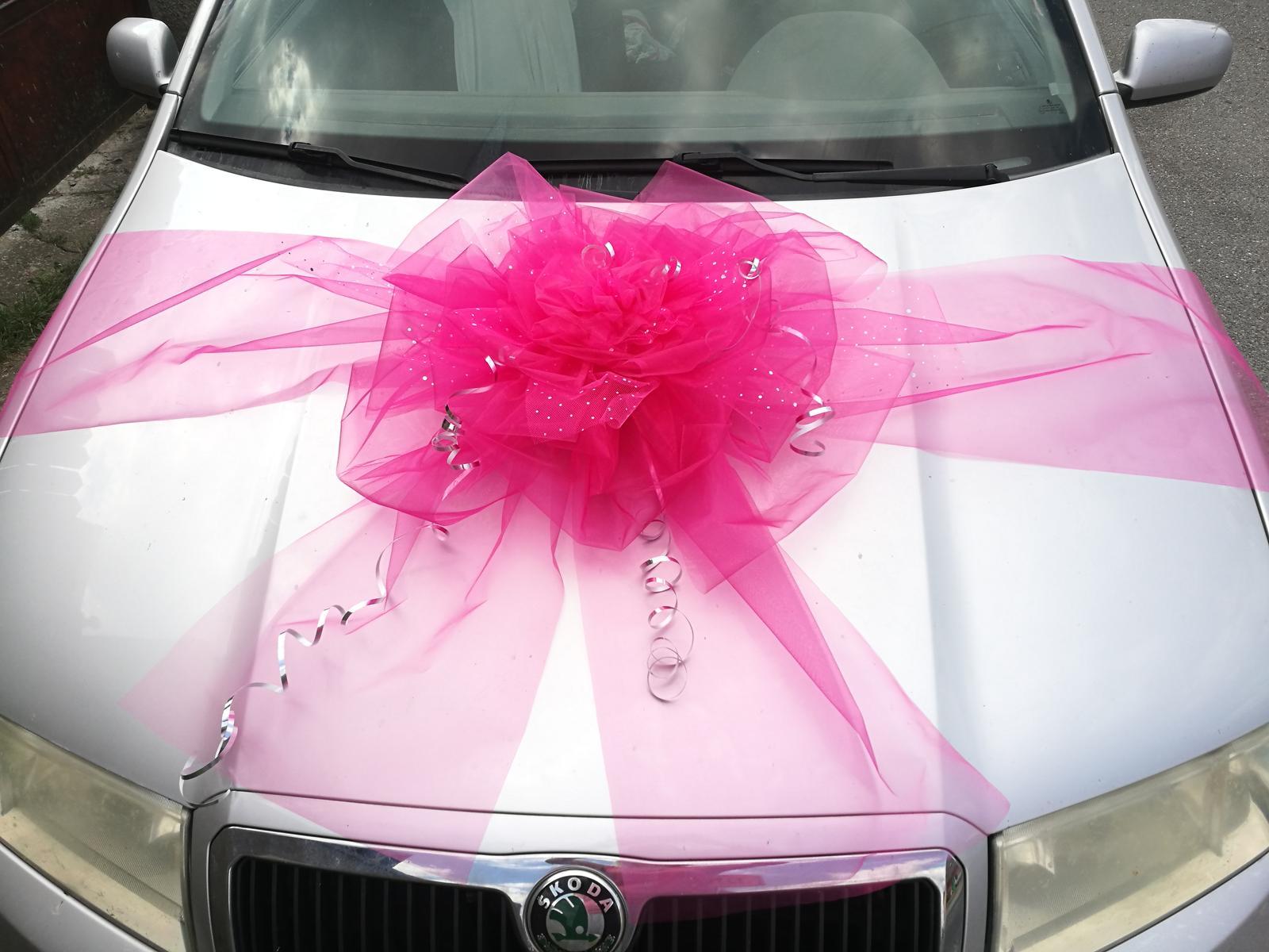 Mašle na auto v barvě na přání - Obrázek č. 2