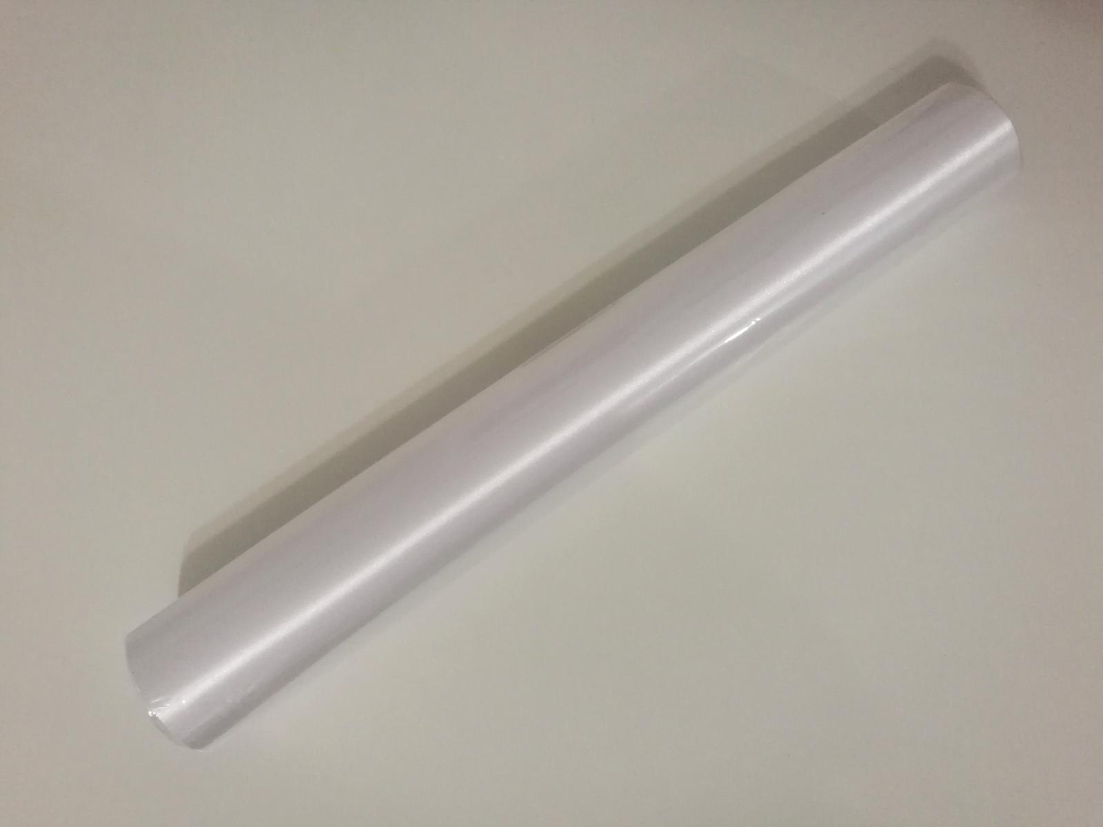 Satén bílý 36cm, 9m - Obrázek č. 1