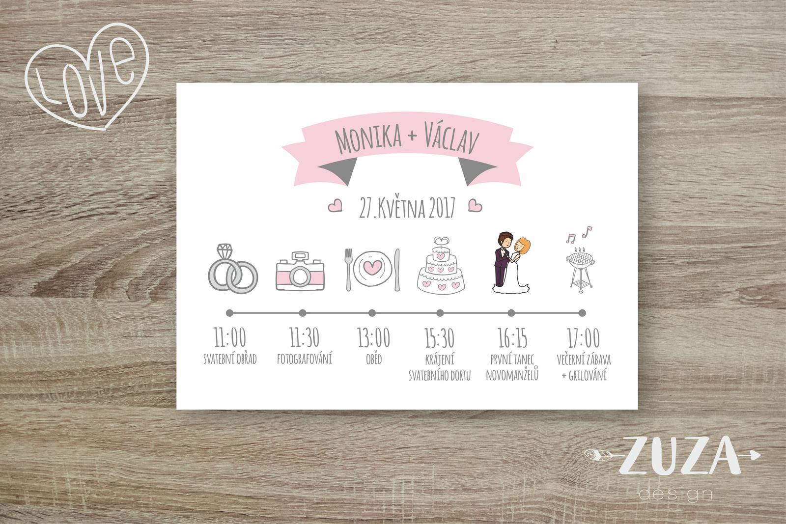 Svatební oznámení - Obrázek č. 3
