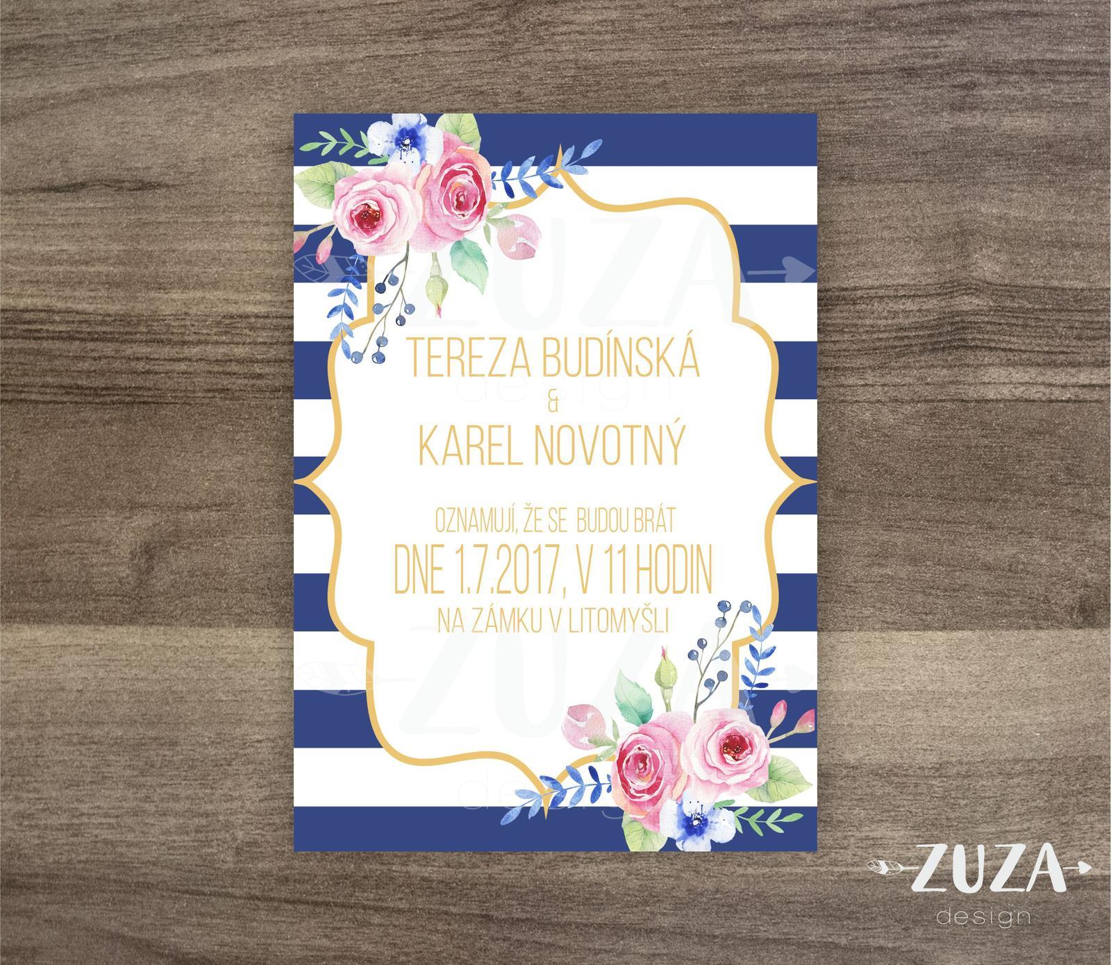 Svatební oznámení - Obrázek č. 7