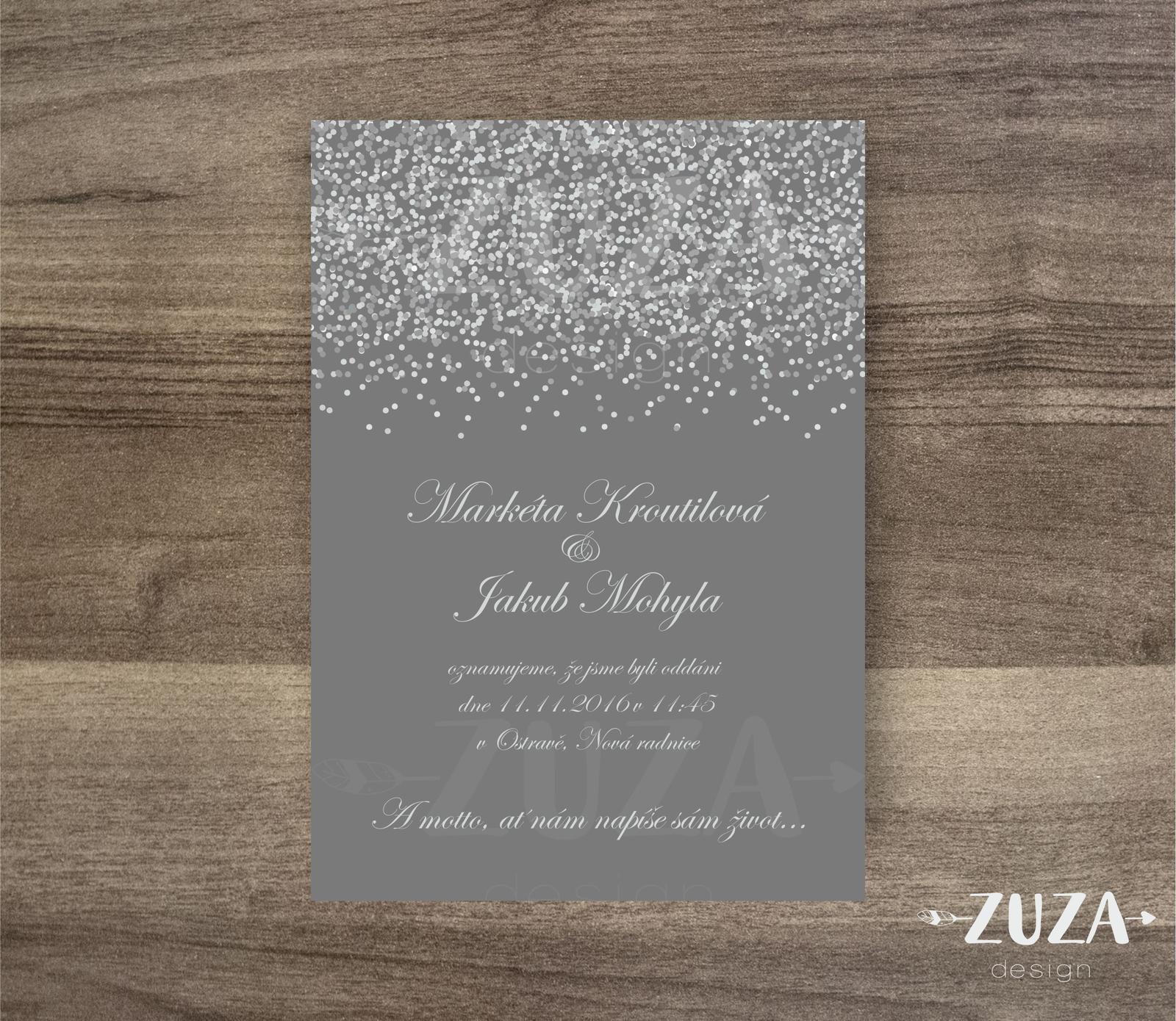 Svatební oznámení - Obrázek č. 13