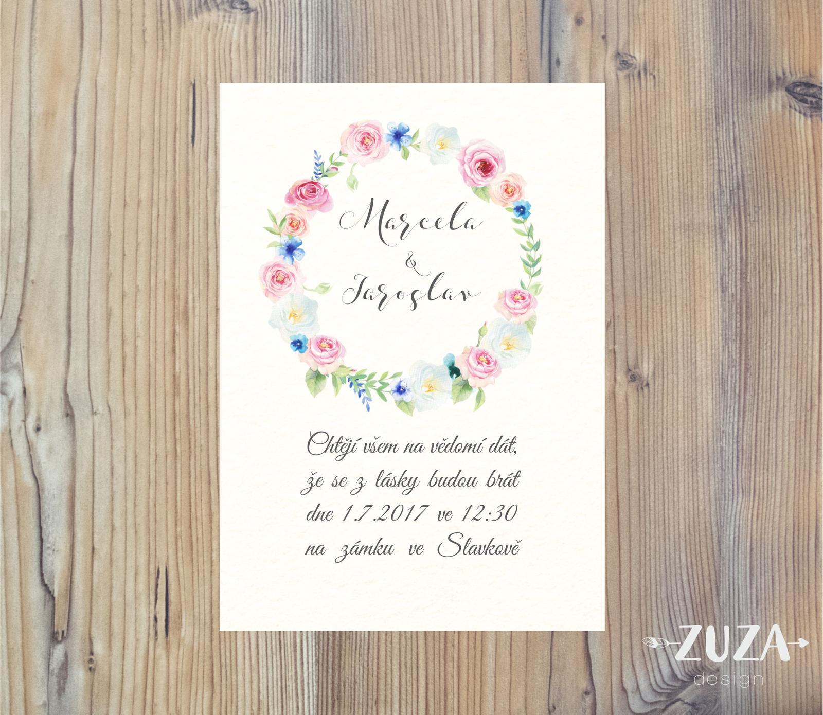 Svatební oznámení - Obrázek č. 14