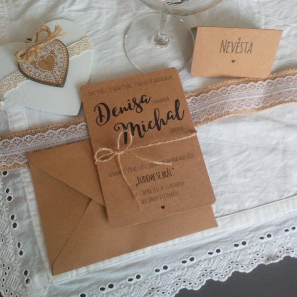Svatební oznámení - Obrázek č. 22