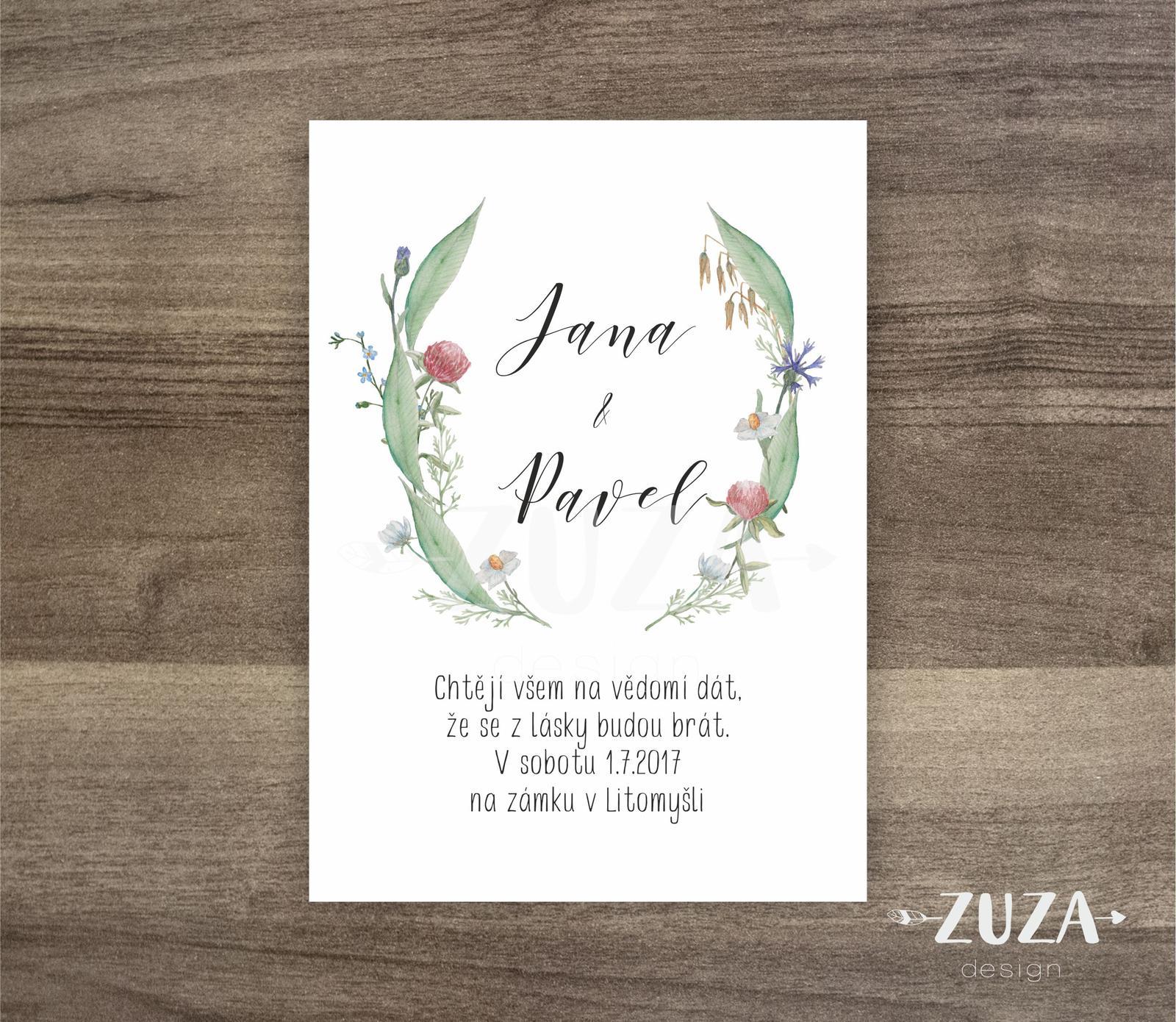 Svatební oznámení - Obrázek č. 27