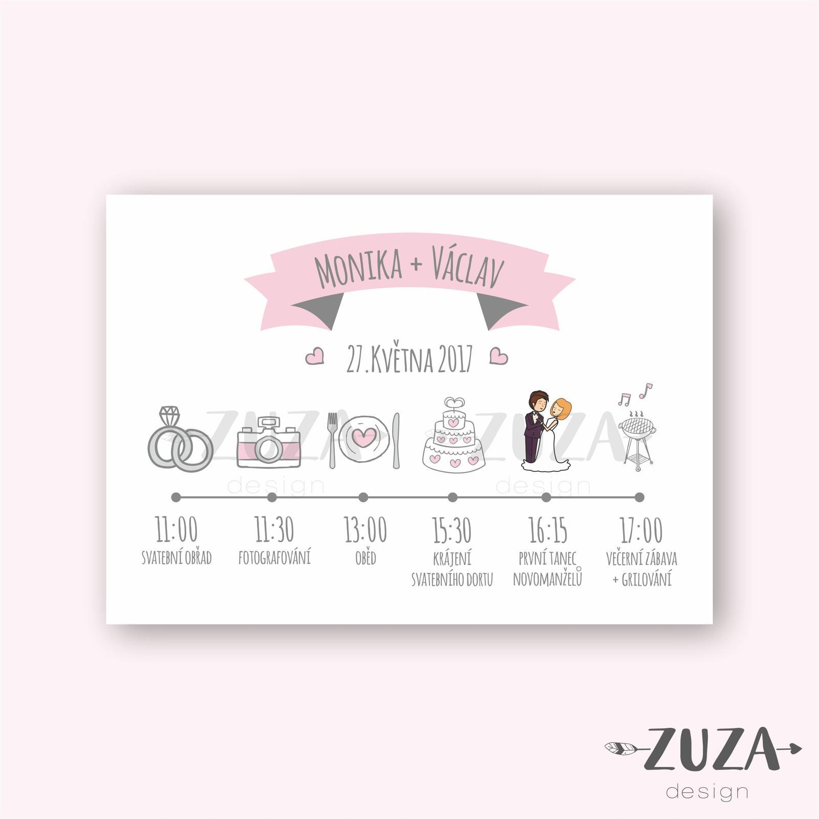 Program svatebního dne - Obrázek č. 1