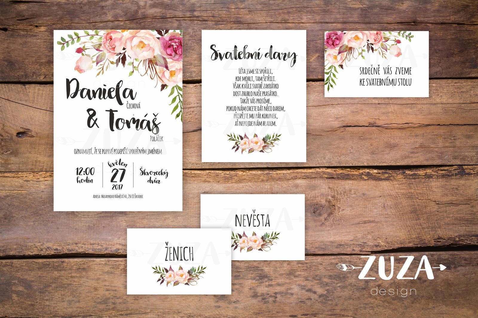 Svatební oznámení no.23 - Obrázek č. 1