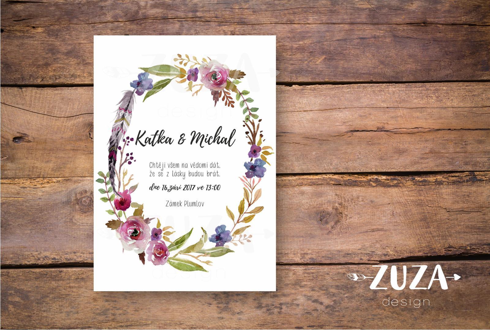 Svatební oznámení no.28 - Obrázek č. 1