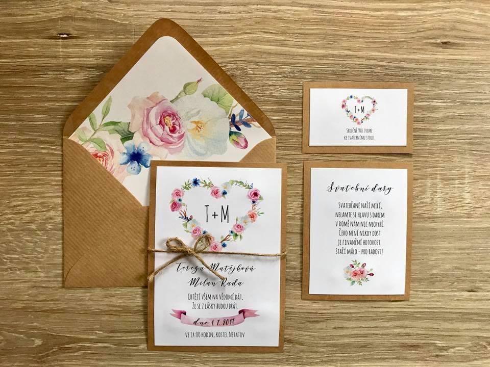 Svatební oznámení no.31 - Obrázek č. 1